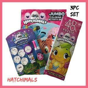 Hatchimals 3Pc Gift Set NIB Z4